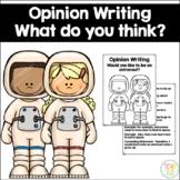 Opinion Writing Astronaut