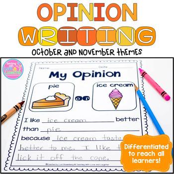 Opinion Writing BUNDLE