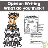 Opinion Writing Sled Dog Racing