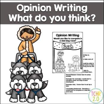 Opinion Writing Prompt Balto Iditarod Alaska