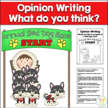 Opinion Writing Prompt Sled Dog Racing