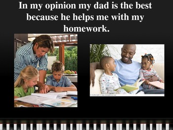 Opinion Writing - Best Dad - Powerpoint