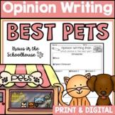 Opinion Writing - Best Pet