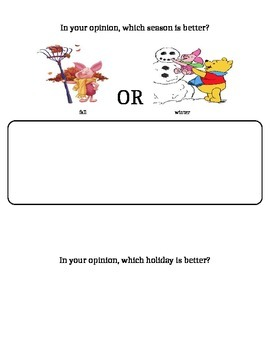 Opinion Writing Booklet