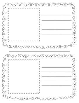 Opinion Writing Booklet Template