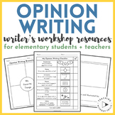 Opinion Writing Resources and Organizers for Elementary St