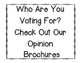 Opinion Writing Brochure Template {Great for the Election!}