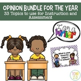 Opinion Writing 33 Prompts