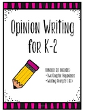 Opinion Writing ** Bundle