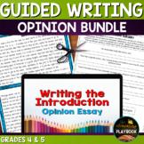 Opinion Writing Bundle - Introduction & Conclusion Paragraphs