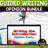 Opinion Writing Bundle | Introduction and Conclusion Paragraphs