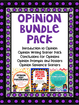 Opinion Writing Bundle Pack