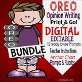 Opinion Writing Bundle Print and Go or Digital