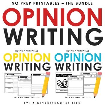 Opinion Writing Bundled
