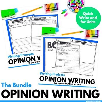 Opinion Writing Bundled