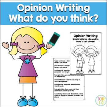 Opinion Writing Cell Phone
