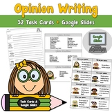 Opinion Writing Task Card Center
