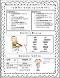 Opinion Writing Cheat Sheet