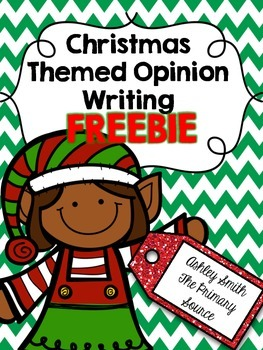 Opinion Writing - Christmas Theme
