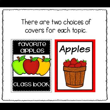 Opinion Writing Class Books (Fall Edition)