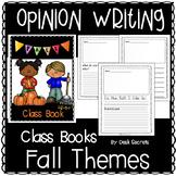 Opinion Writing: Fall
