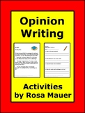 Opinion Writing Passages