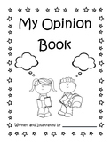 Opinion Writing Cover Page