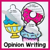 Opinion Writing Craftivities Writing Prompts and Crafts