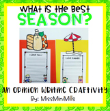 Opinion Writing Craftivity: The Best Season