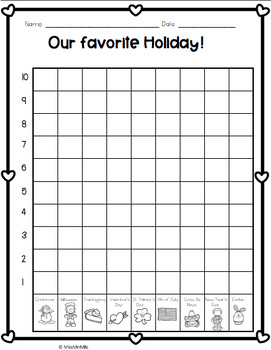 Opinion Writing Craftivity: What is your Favorite Holiday?