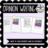 Opinion Writing - Cupcake