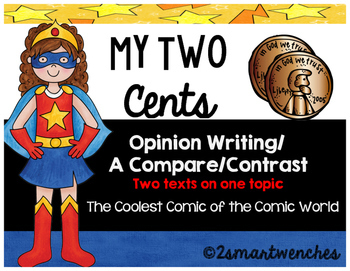 Opinion Writing- DC and Marvel Comics