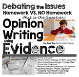 Opinion Writing: Debating the Issues