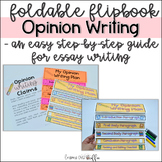 Opinion Writing Graphic Organizer for Text Based Writing