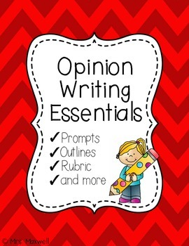 Opinion Writing Essentials