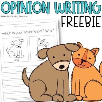 Opinion Writing {FREE}