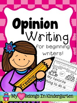 Opinion Writing FREEBIE