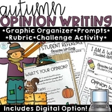 Fall Activities Opinion Writing Prompts