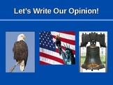 Opinion Writing - Favorite American Symbol - Powerpoint