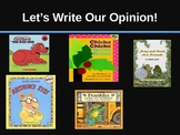 Opinion Writing - Favorite Book - Powerpoint