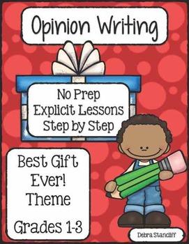 Opinion Writing Favorite Gift