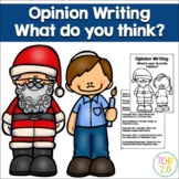 Opinion Writing Favorite Holiday