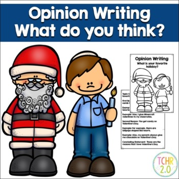 Opinion Writing Prompt Favorite Holiday