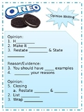 Opinion Writing: Fill in the blank OREO notes