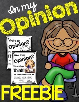 Opinion Writing Free