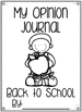 Opinion Writing Freebie {Back to School}