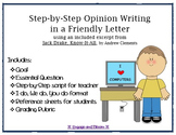 Opinion Writing - Friendly Letter - Jake Drake, Know-It-All