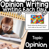 Opinion Writing Google classroom Power Point Distance Learning