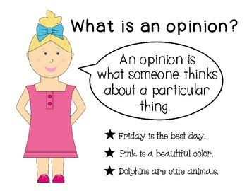 Opinion Writing (Grades 2 & 3)