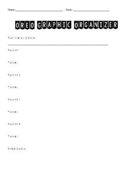 Opinion Writing Graphic Oraganizer